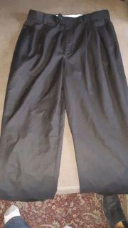 """Men's size 32"""" × 32"""" Black Louis Rachael Tailored Dress Pants"""