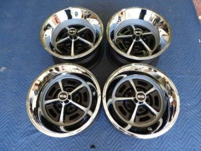 Find 1968-1970 SET OF 4 15x7 & 15X8 SS CHEVELLE 396 SS CAMARO YA STYLE WHEELS NICE motorcycle in Valley Center, California, United States, for US $799.99