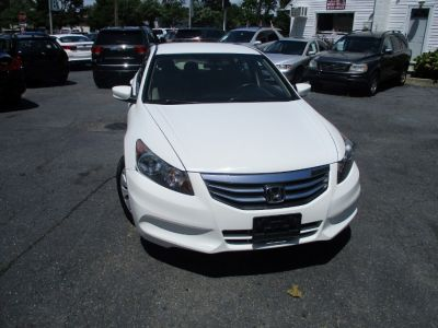 2012 Honda Accord LX (Taffeta White)