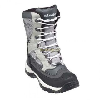 Purchase 2017 Ski-Doo Ladies Rebel Boots - White/Gray motorcycle in Sauk Centre, Minnesota, United States, for US $131.74