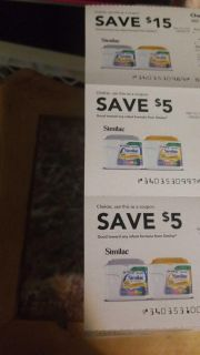FREE Similac Coupons $15, $5, $5
