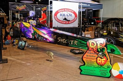 Electric Junior Dragster Record Holder