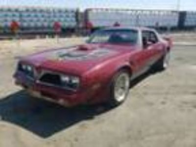 1978 Pontiac Trans Am -400 ENGINE AUTO RELIABLE PRO TOUR LOOK HAS AC 1978