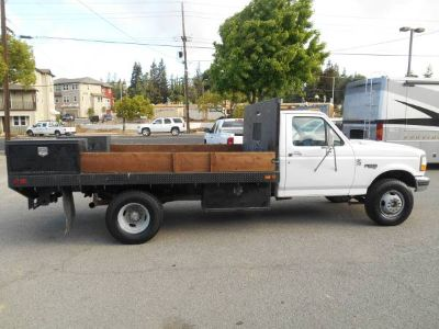 1997 F-350 Dually Flatbed/7.3L Powerstroke Diesel/5 spd/ PTO
