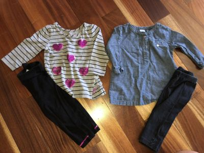 Lot of 2 Outfits 12 mos