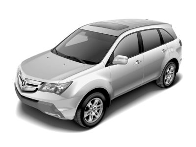 2007 Acura MDX Base (Nimbus Gray Metallic)