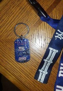 NFL NY Giants Key Chain