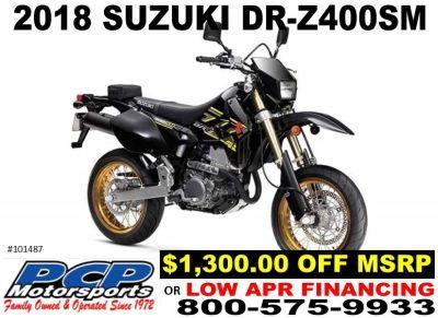2018 Suzuki DR-Z400SM Street / Supermoto Motorcycles Sacramento, CA