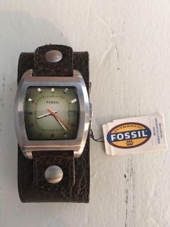 Fossil authentic leather band