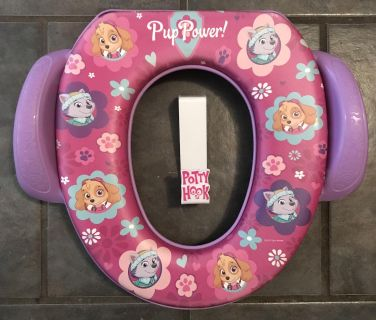 Paw Patrol Potty Training Seat Cover with Handles