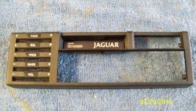 Purchase Jaguar ASI Radio Face Plate Trim Bezel motorcycle in Portland, Oregon, United States, for US $14.95