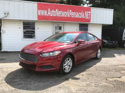 2013 Ford Fusion SE (Red)