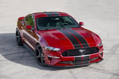 2019 Ford Mustang GT Whipple Supercharged (Ruby Red)
