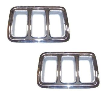 Purchase 70 MUSTANG TAIL LIGHT BEZELS, PAIR motorcycle in Sheffield Lake, Ohio, US, for US $169.95