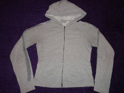 Light weight grey hoodie
