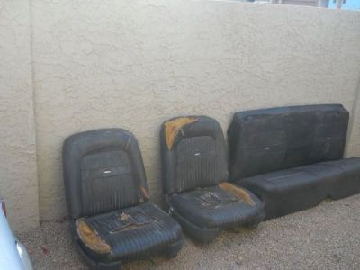 Find falcon & comet bucket seats bench seat motorcycle in Peoria, Arizona, United States, for US $450.00