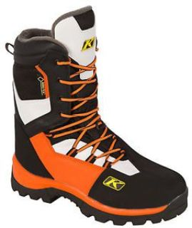 Buy Mens Klim Adrenaline GTX Orange Flame White Black Snowmobile ATV Boots Gore-Tex motorcycle in Superior, Wisconsin, United States, for US $239.99