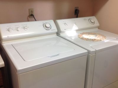 Maytag washer/dryer w/suds saver