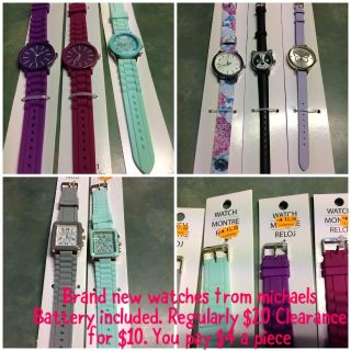 Brand new watches from Michael s