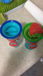 Sassy brand sippy cups