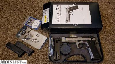 For Sale: 2014 Beretta 9mm Vertec INOX