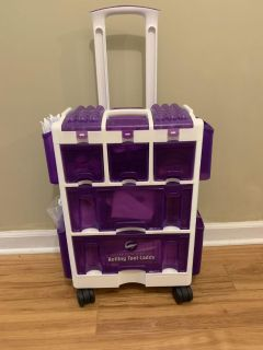 Wilton Ultimate Rolling Tool Caddy and supplies