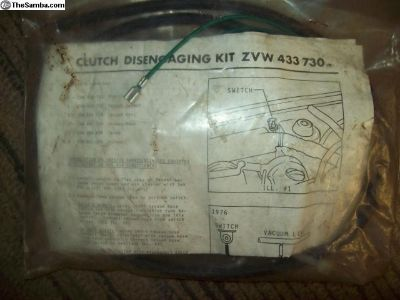 NOS Clutch Disengaging Kit ZVW 433 730