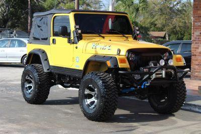 2006 Jeep Wrangler X (Yellow)