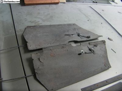 69-74 Fresh air inner side panel.