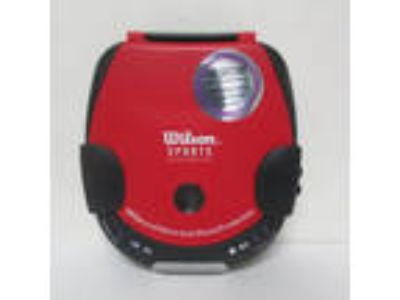 Wilson Sports Personal Compact Disc Player Red Portable CD