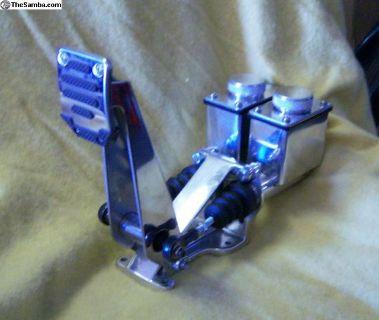 Hydraulic Pedals, Four Wheel Disc Polish