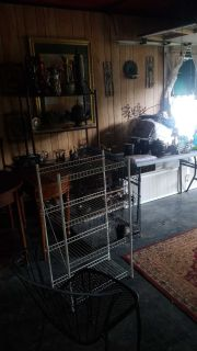 All in garage half off need done today home decor and tables