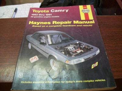 Find Haynes Repair Manual 1983 - 1991 Toyota Camry 92005 motorcycle in Golden Valley, Arizona, United States, for US $9.41