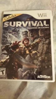 Wii survival video game