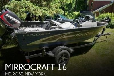 2016 Mirrocraft Troller 1685