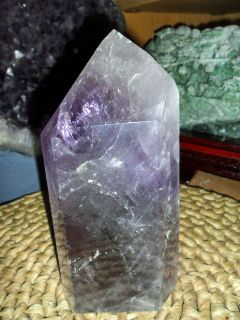Exceptionally a Beautiful Cut Amethyst Point Gemstone of Beauty