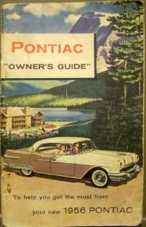 Find Original 1956 Pontiac Chieftain Star Chief Owners Manual motorcycle in Holts Summit, Missouri, United States, for US $32.56