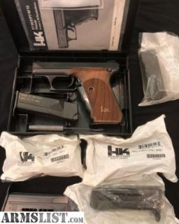 For Sale: Extremely rare LNIB H&K P7 M13