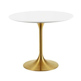 New Dining Tables 10 Sizes With Gold Base Ships