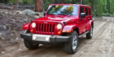 2014 Jeep Wrangler Unlimited Sahara (Flame Red Clearcoat)