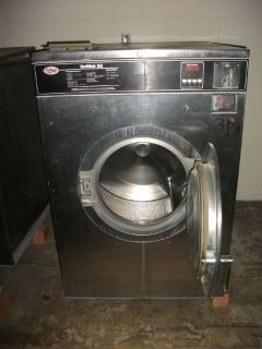 Coin Operated Unimac UniMat Uni-Mac 50 lb washer/ extractor used