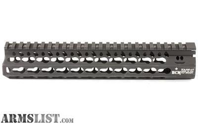 For Sale: Bravo Company KMR ALPHA 10 KeyMod Free Float Handguard Aluminum Alloy Black BCM-KMR-A10-556-BLK
