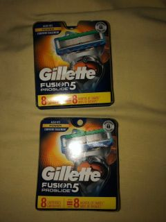 Gillette fusion razor blade refills new in package
