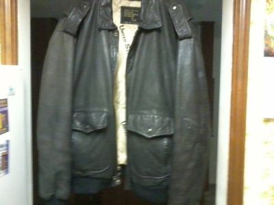 Mens Harley owners group leather jacket 2x