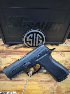 For Trade: Sig p320 with X carry frame, apex flat trigger kit and night sights