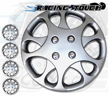 "Find Metallic Silver 4pcs Set #821 14"" Inches Hubcaps Hub Cap Wheel Cover Rim Skin motorcycle in La Puente, California, US, for US $28.50"