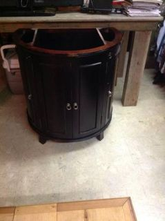 Solid Wood Bathroom Vanity Cabinet
