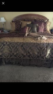 King bedding by Waterford
