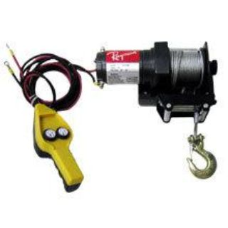Find 2000lb Winch w/ Roller Fairlead DC12V Motor ATV Boat Tool Emergency Towing Tool motorcycle in Chino Hills, California, US, for US $64.95