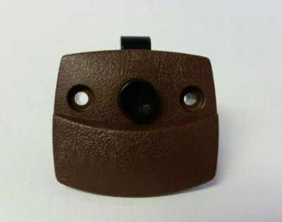 Sell RV Designer Brown Push Button Privacy Door Latch motorcycle in Portland, Oregon, United States, for US $13.25